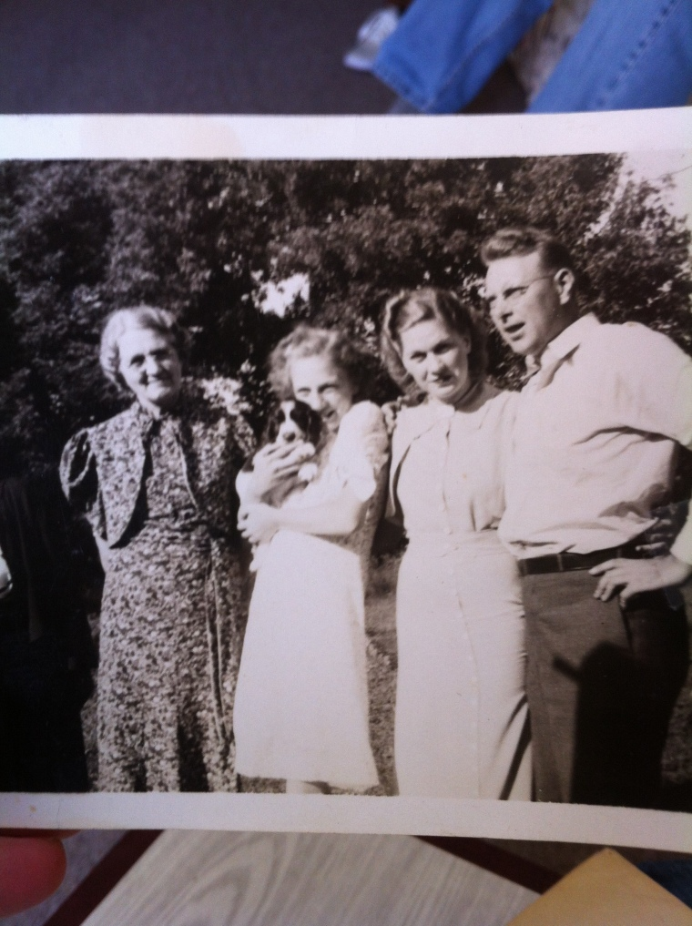 Jeanne, my Grandmother, et al.